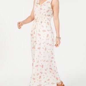 Lucky Brand Sz XL floral print dress NWT